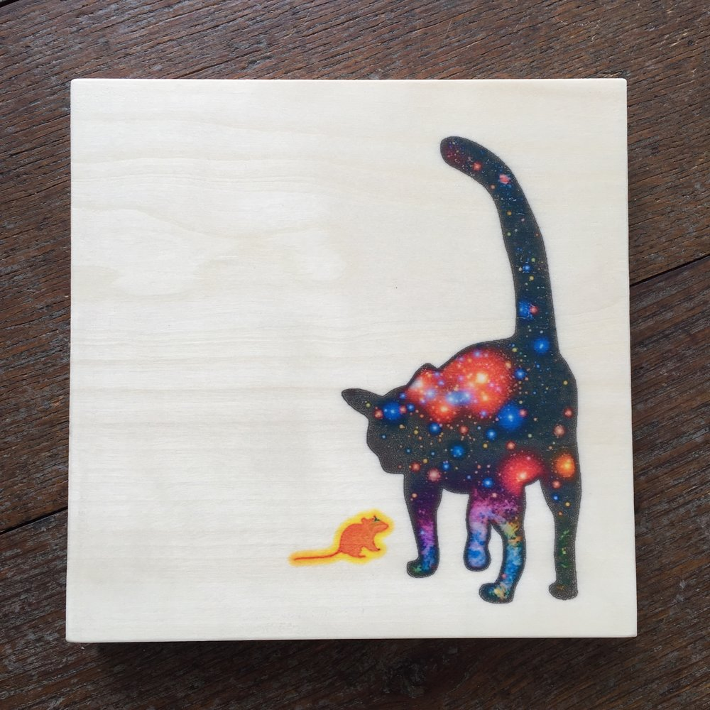 Space Cat and Sun Mouse