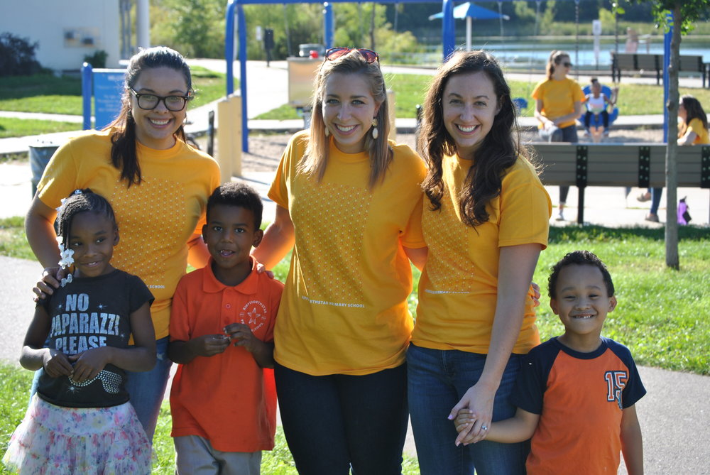 KIPP teachers, KIPPsters, and families enjoyed Family Fun Night at Theo Wirth Park in September.