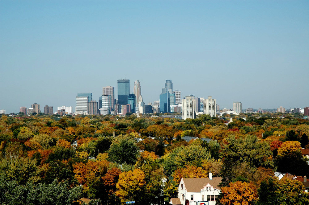 Minneapolis Skyline, Fall Foliage.jpg