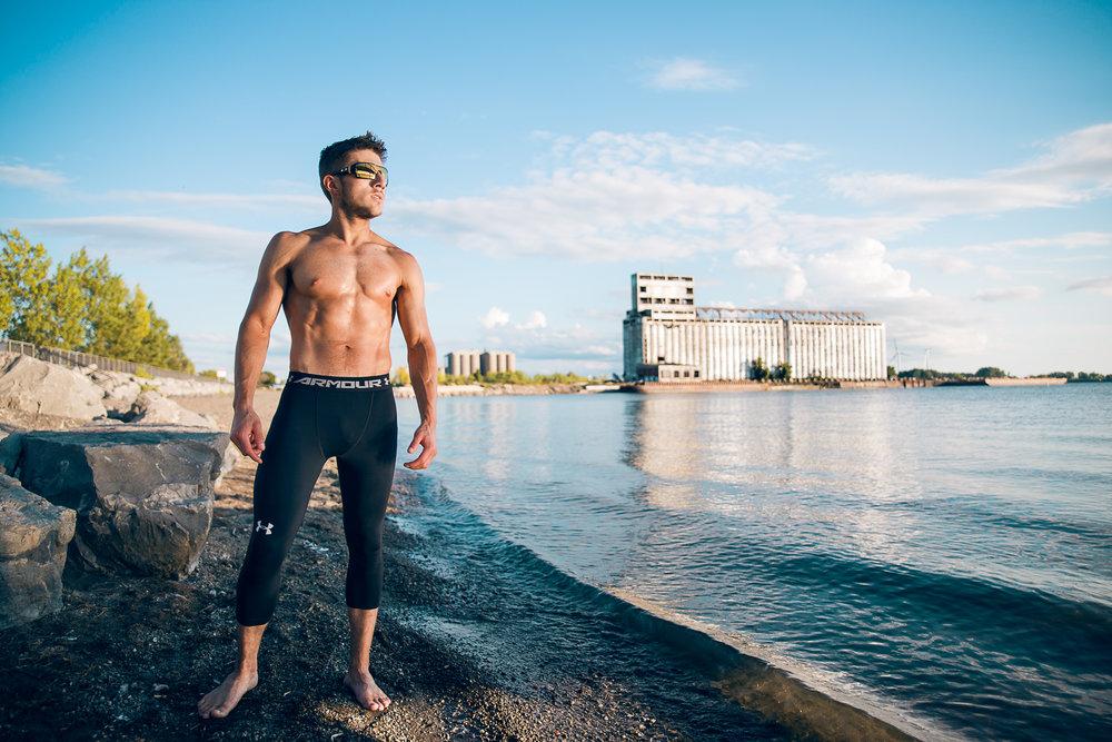 Outer Harbor Fitness Posing Model