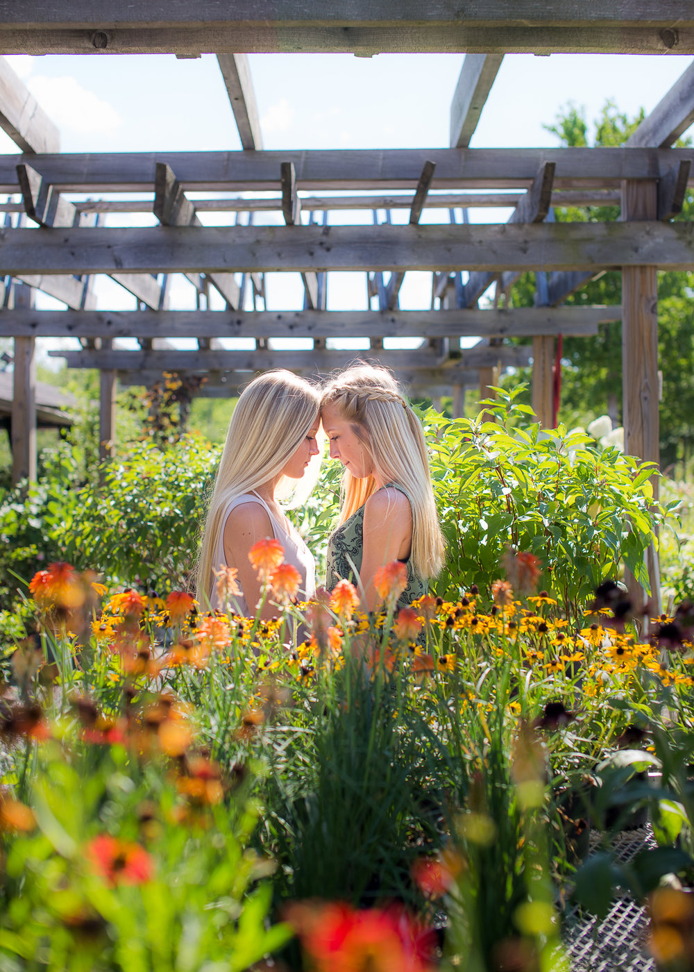 Summer Flowers Twins Seniors