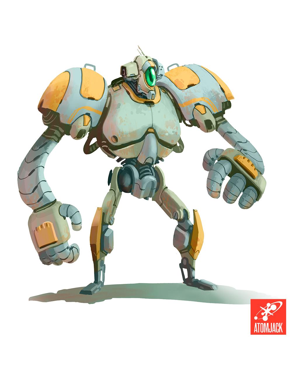 Dev Blog: Designing a Heroic Robot — AtomJack: www.atomjack.net/blog/2014/12/9/dev-blog-designing-a-heroic-robot
