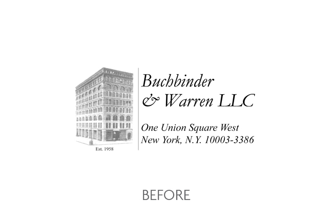 Buchbinder & Warren (Before)
