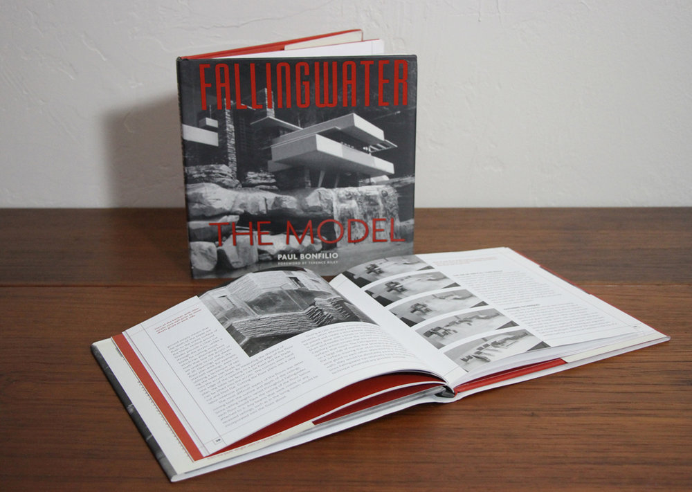 Fallingwater The Model by Paul Bonfilio (Rizzoli Publishing)