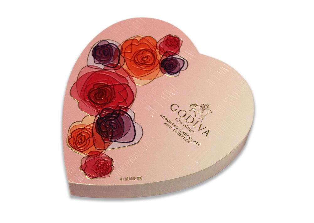 Godiva Chocolatier Valentine's Day 2012