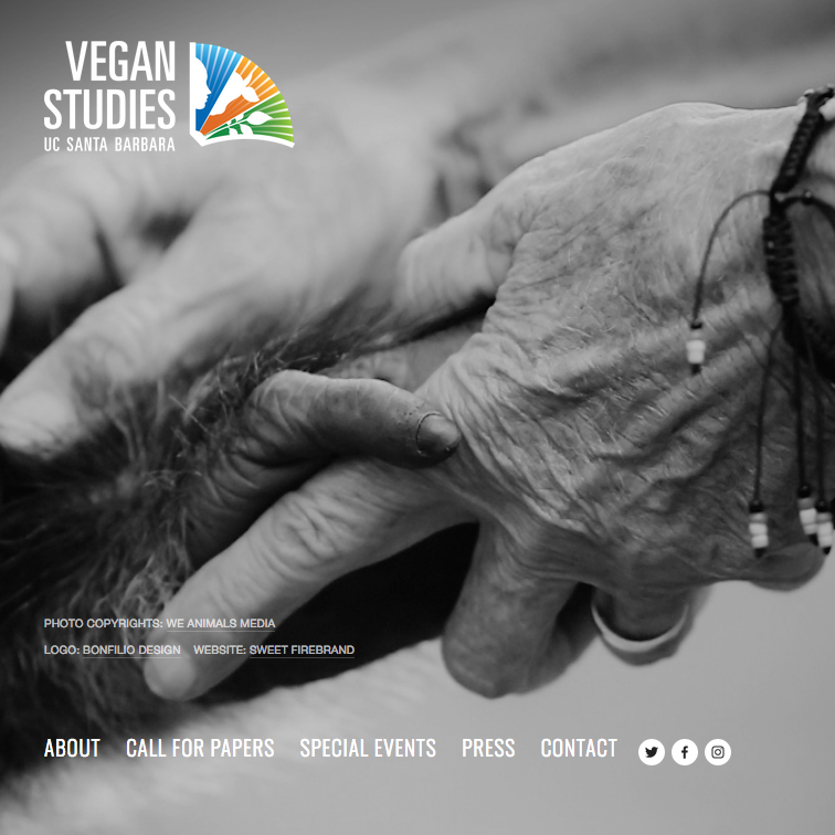Vegan Studies UCSB Website
