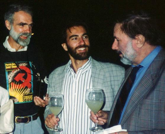 Phil Risbeck, Ron Miriello and Oleg Savostiuk Poster Art of the Soviet Union premier, 1989.