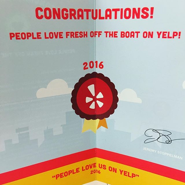 Word. Thanks peeps  #thesix #toronto #seafoodjoint #softshellcrab #lobsterroll #dopeseafood #wethenorth #yelp #peoplelikeus
