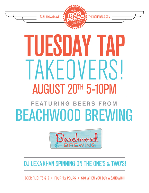 Tuesday Tap Takeovers - The Beachwood BBQ & Brewing Edition