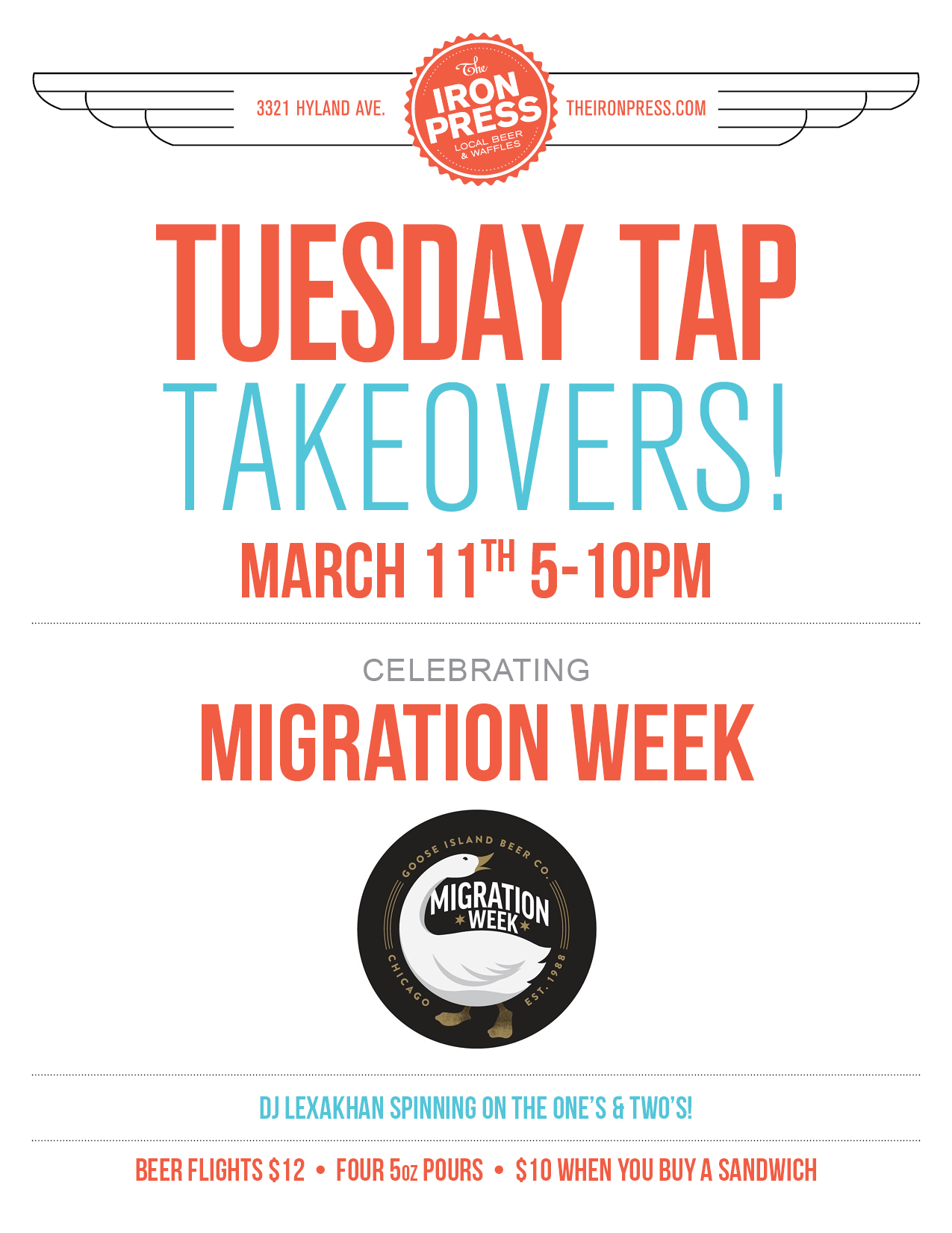 Migration Week x The Iron Press