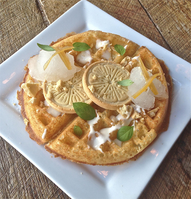 Girl Scout Lemonade Waffle