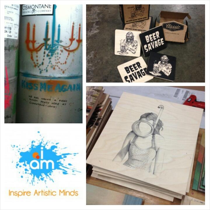 Classic Wood Prints x Beer Savage x Cismontane x Inspire Artistic Minds x The Iron Press