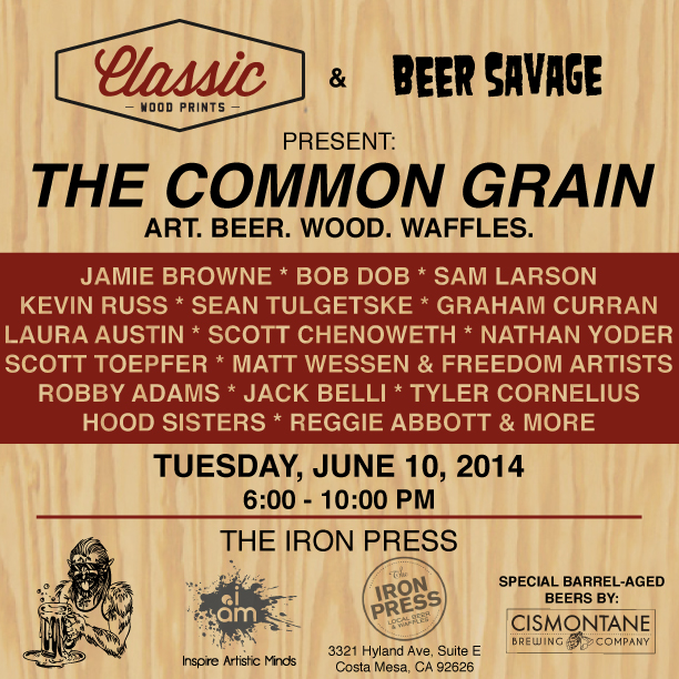 The Common Grain - Art x Beer x Wood x Waffles