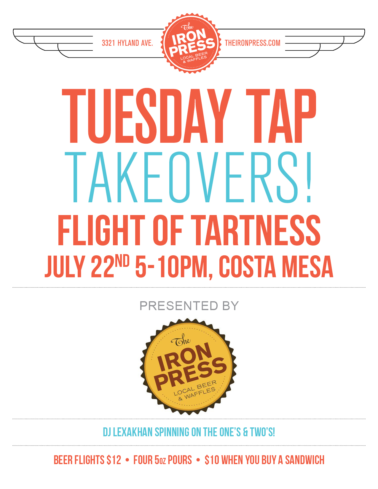 Flight of Tartness
