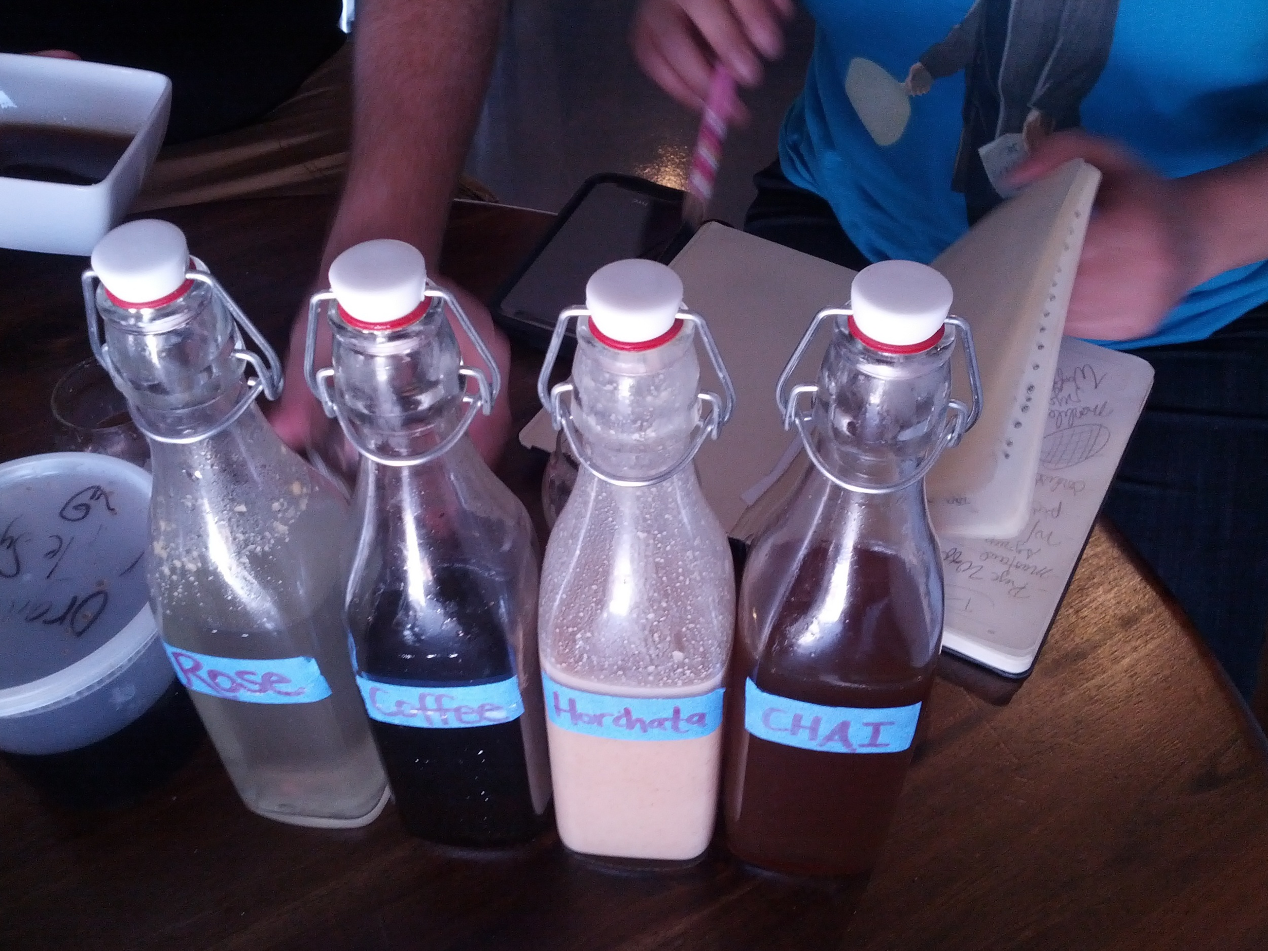House Made Syrups and Infusions!