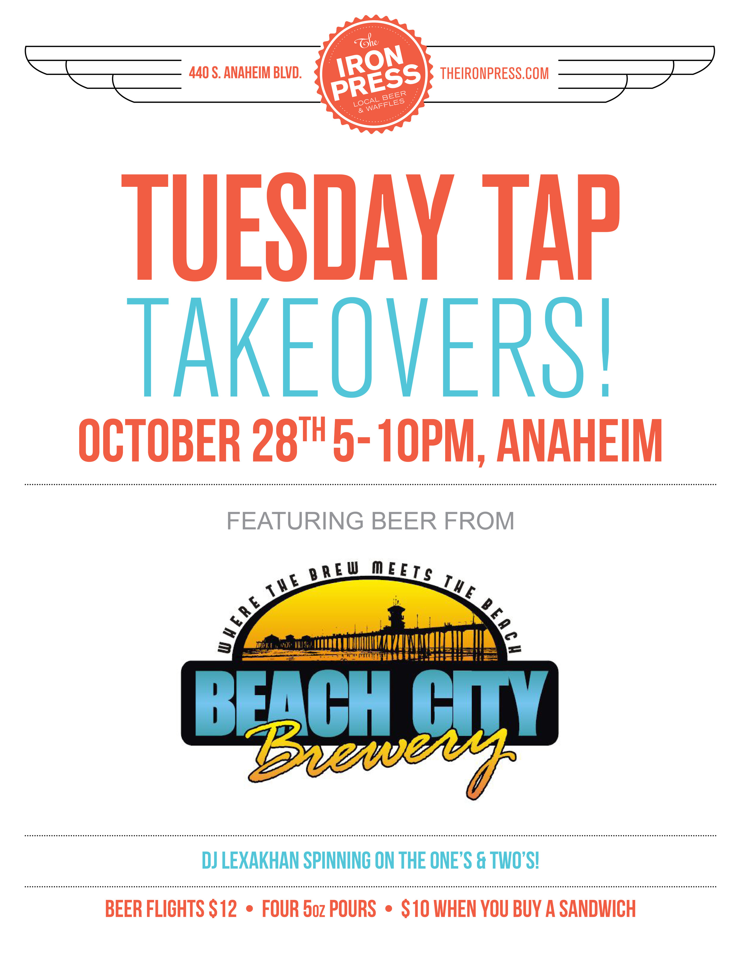 BeachCity Anaheim 10-14 Flier
