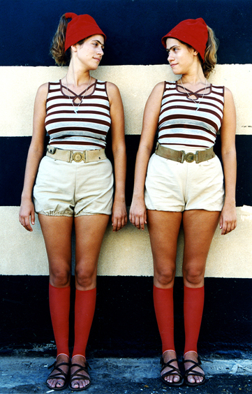 012-twins on stripes wall-lr.jpg