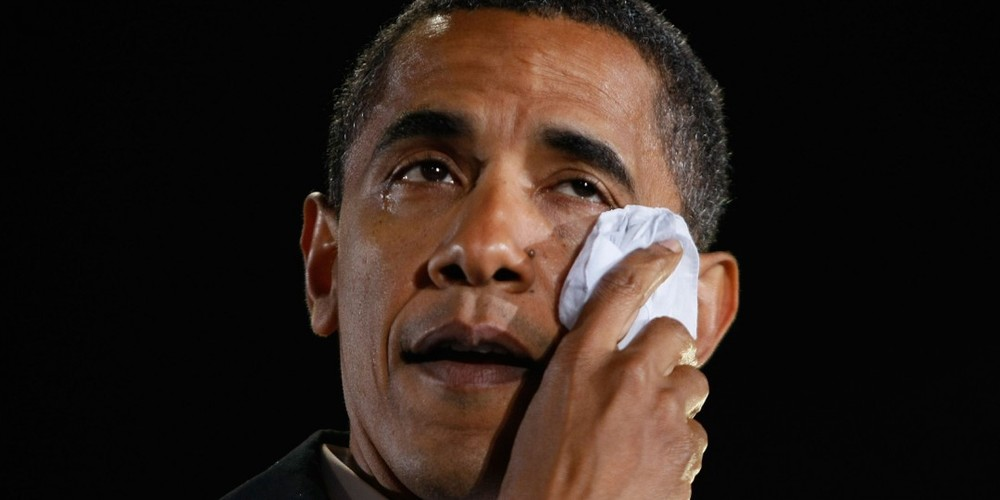 BTW it was NOT BO /POTUS that was crying