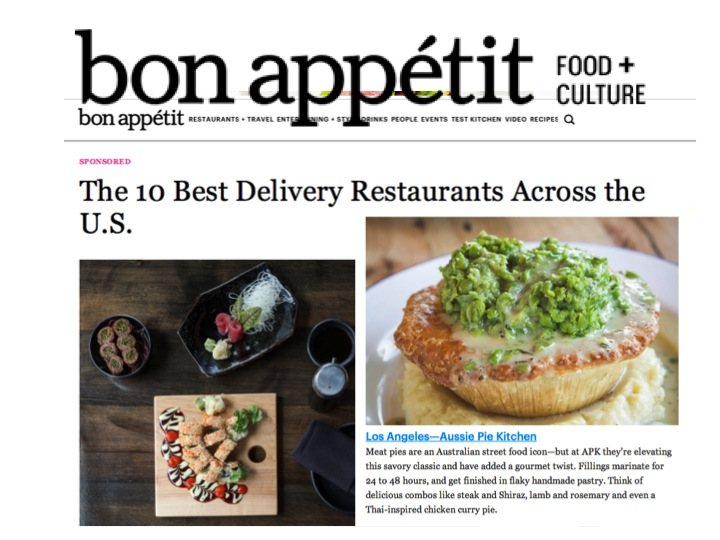 Wow. We friggin did it. This is pretty awesome. Thank you Bon Appetit and GRUB HUB.   Read all about it