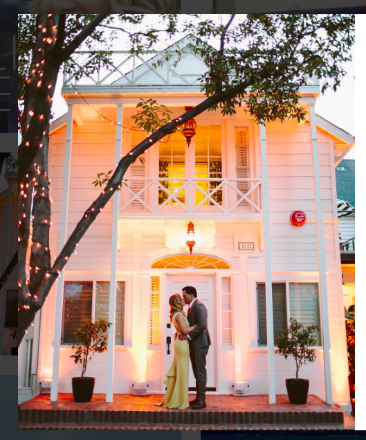 Our first wedding was at the gorgeous Lombardi House in Hollywood
