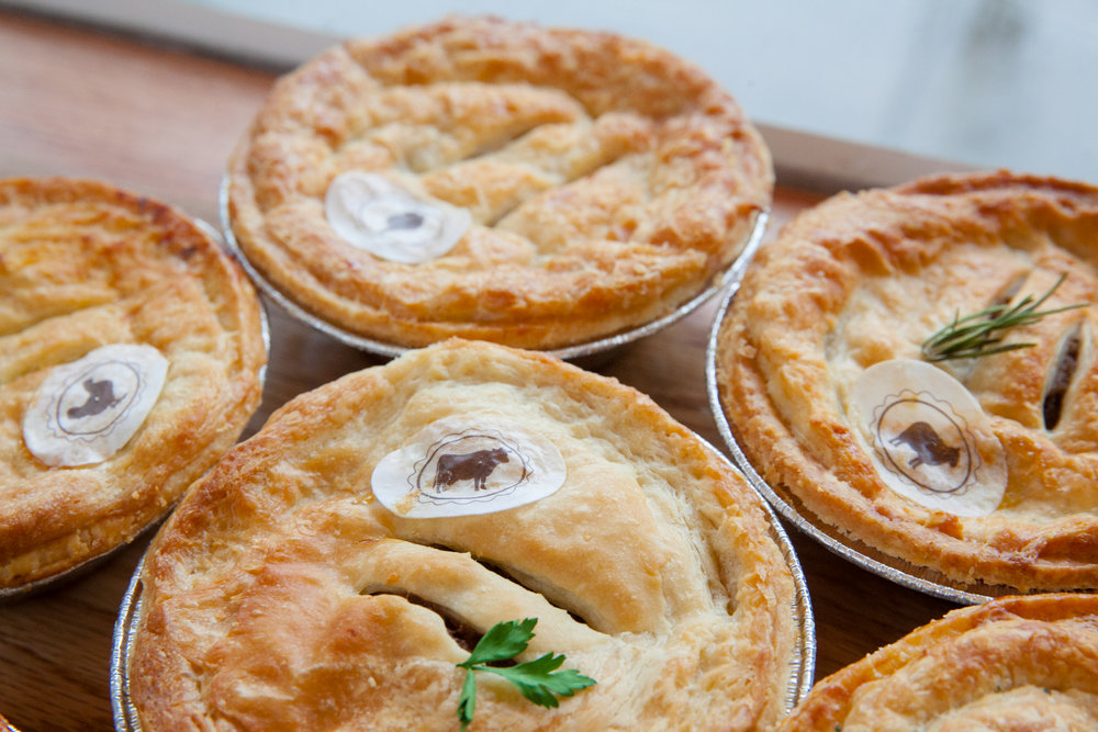 Some of our pies are available Gluten Free and Vegan. Ask for details with your order.