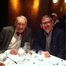 Former Hall Laureates Jack Boan and Robert Evans