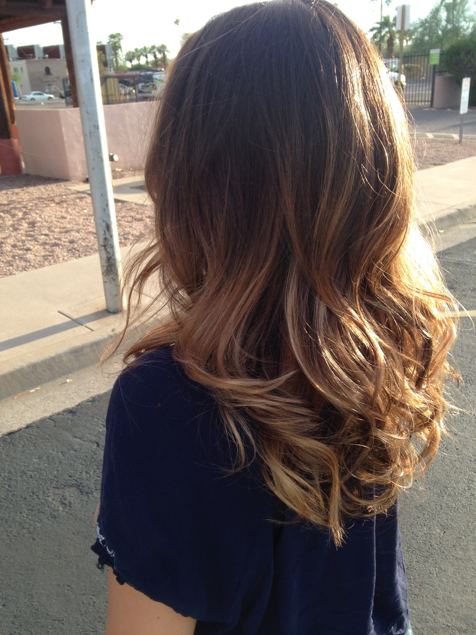 Gallery deana phelps hair designs natural dark brown color ombre and haircut urmus Images