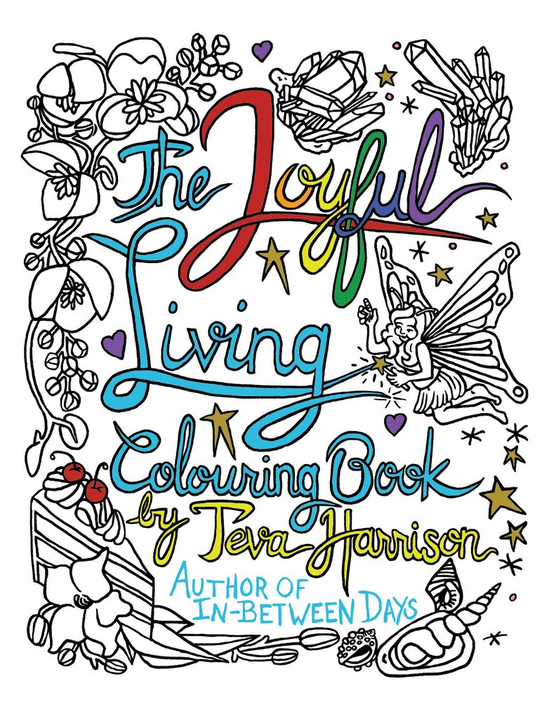 TheJoyFulLivingColouringBookByTevaHarrison