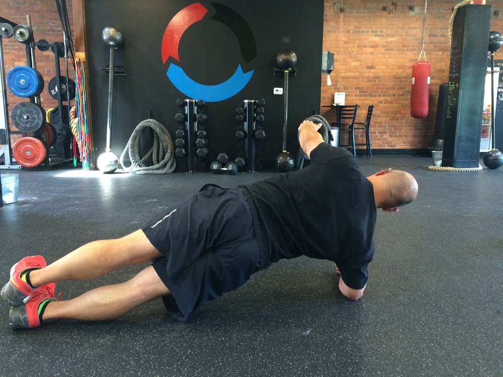 Side Plank with Horizontal Abduction Start