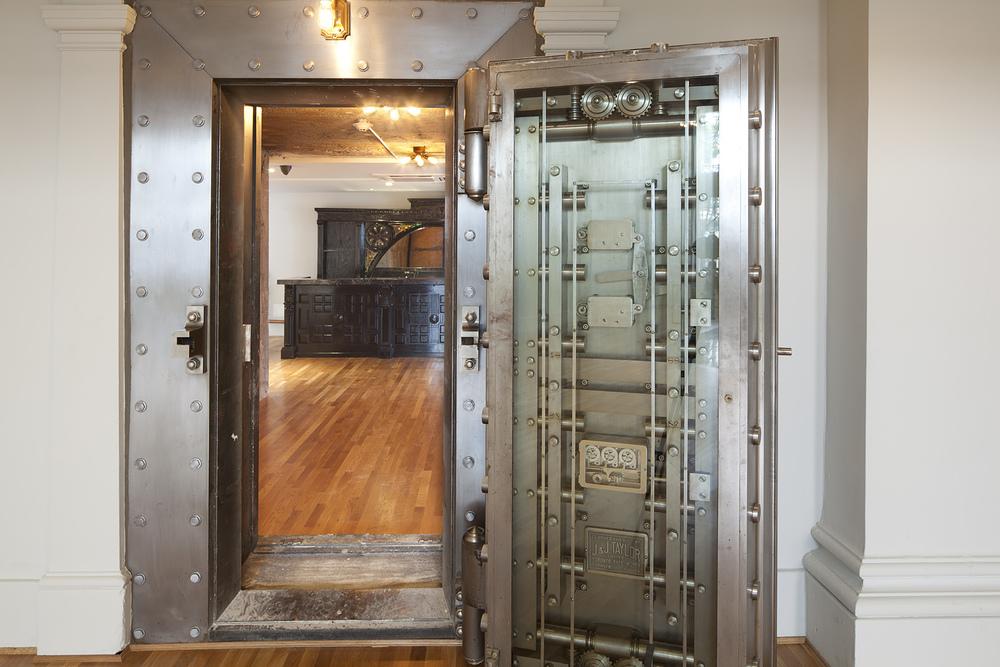 Vault Door Opened