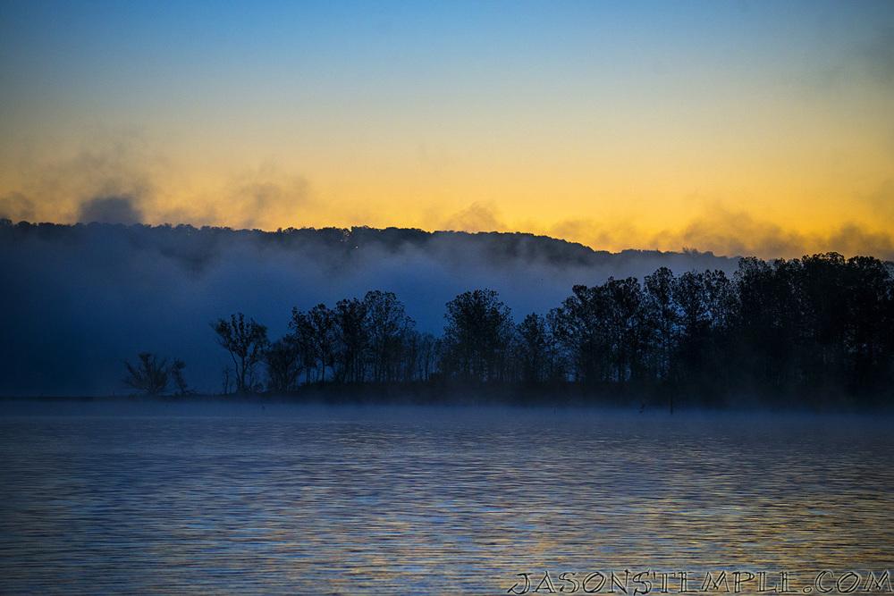 Foggy sunrise on the rock. Nikon d800, 145mm, f/4.0, 1/100 sec
