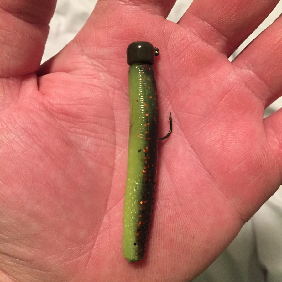 First Off, I Need To Introduce The Ned Rig. The Ned Rig Is A Simple  Presentation, Which Consists Of A Small Mushroom Style Jig Head, Along With  An ...