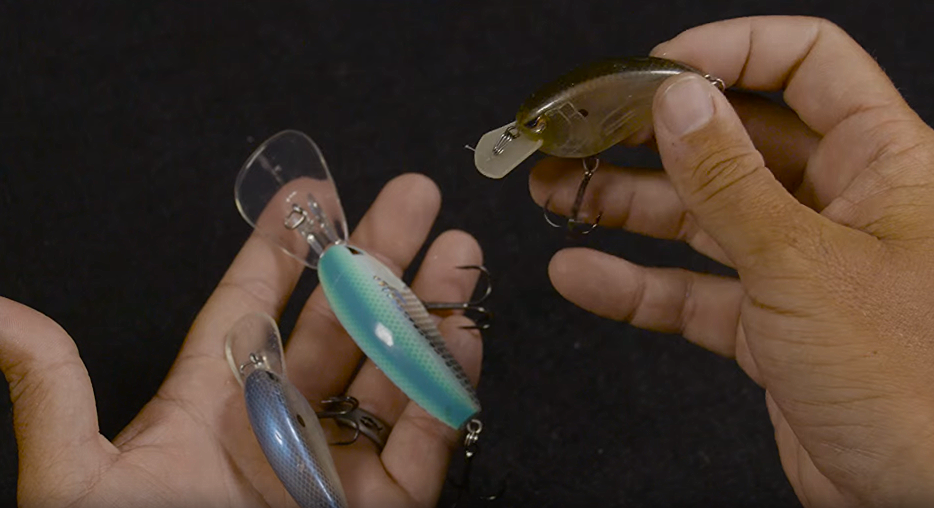 3 different types of crankbaits