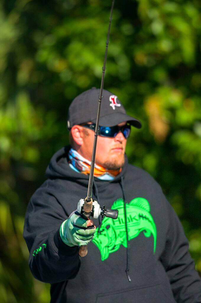 Costa Sunglasses polarization technology is essential to spotting bit Smallmouth.