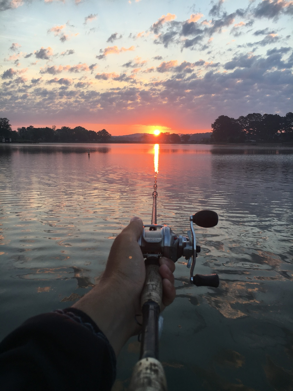 Early Morning is Prime time for a topwater walking bait