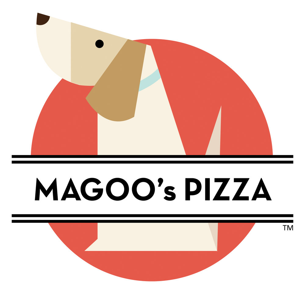 Magoo Pizza Logo by Creative Katz