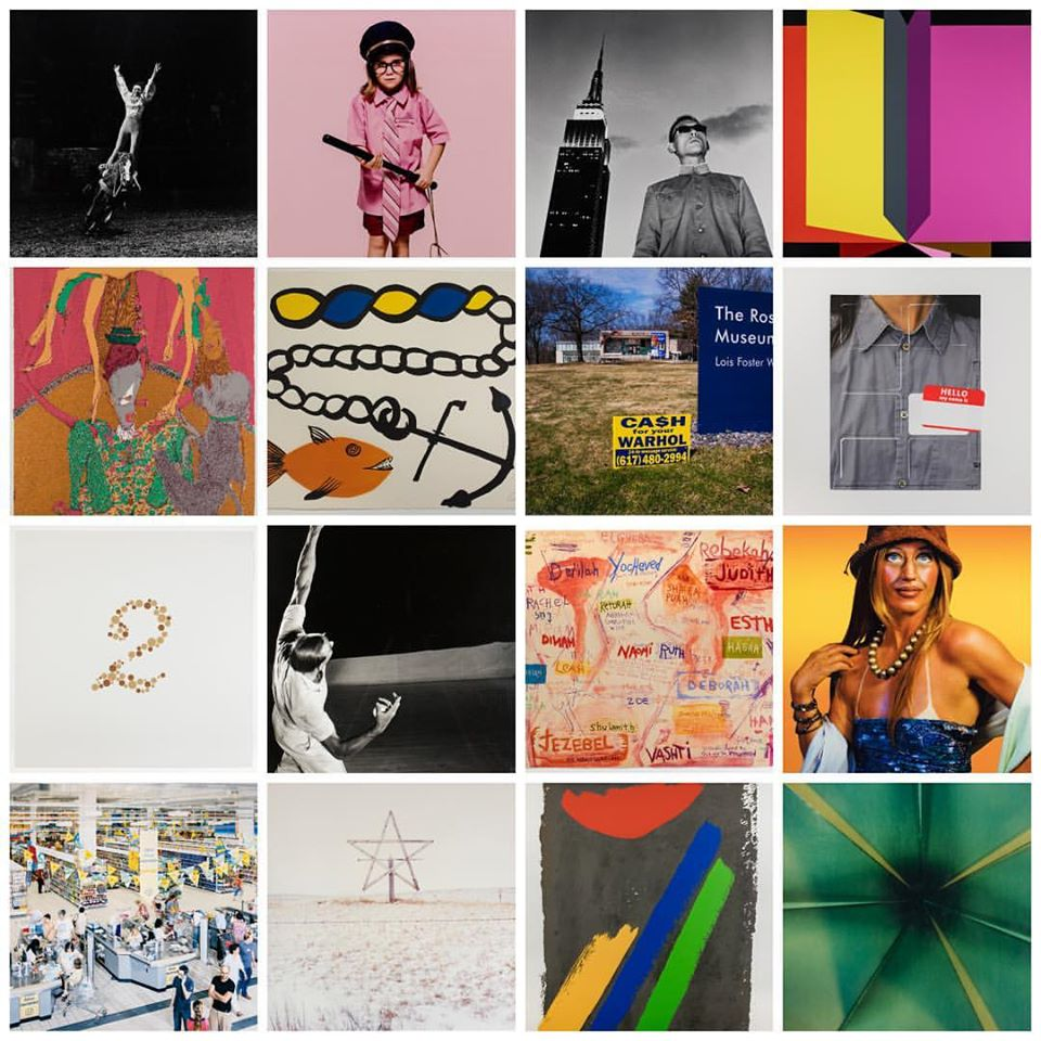 Just a few of the 140 works documented by Creative Katz
