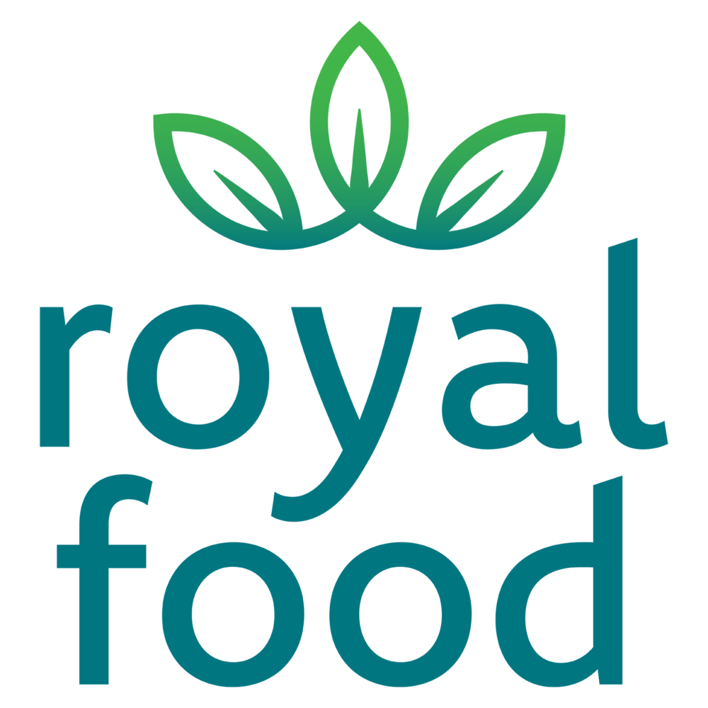 Full Royal Food Logo, Design By Brooke Porter