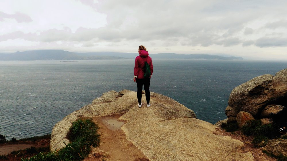 Finisterre, the westernmost point of the Iberian peninsula