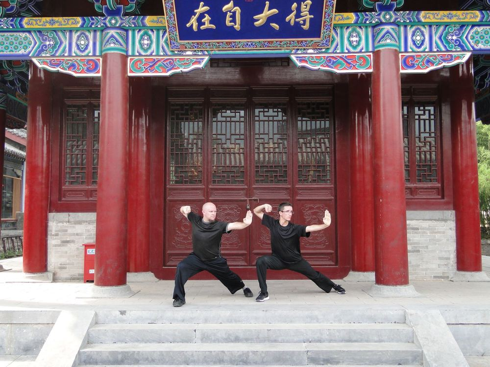 At the Shaolin Temple, China - 2010