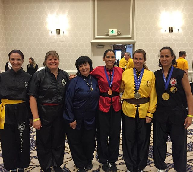 Congratulations to Ms. Kinzie on your 3rd place finish in Chinese Weapon! #kokungfu #usksf #kuoshu2016