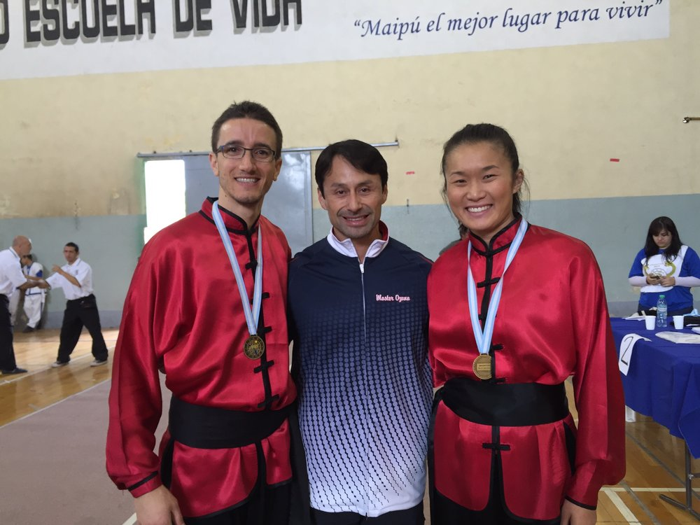 Master Ozuna with KO Black Belts (2015)