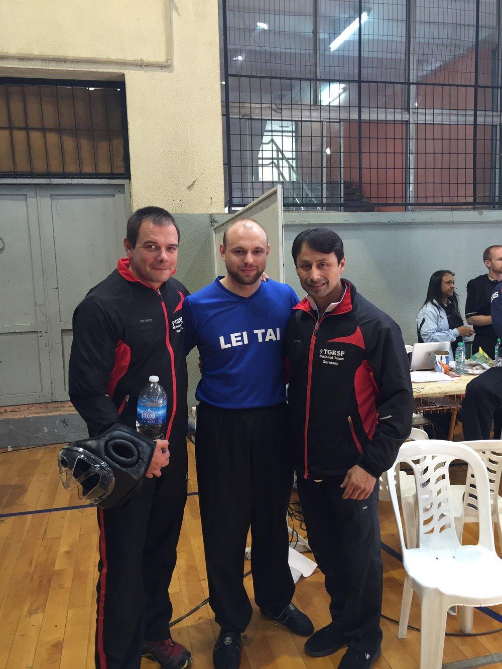 Master John Ozuna and Master Alex Czech (2015)