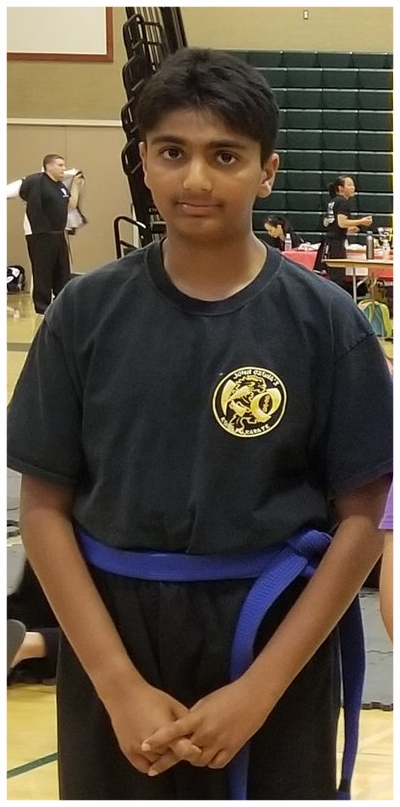 Aniket Mittal at the IBFDA Spring Tournament, 2018