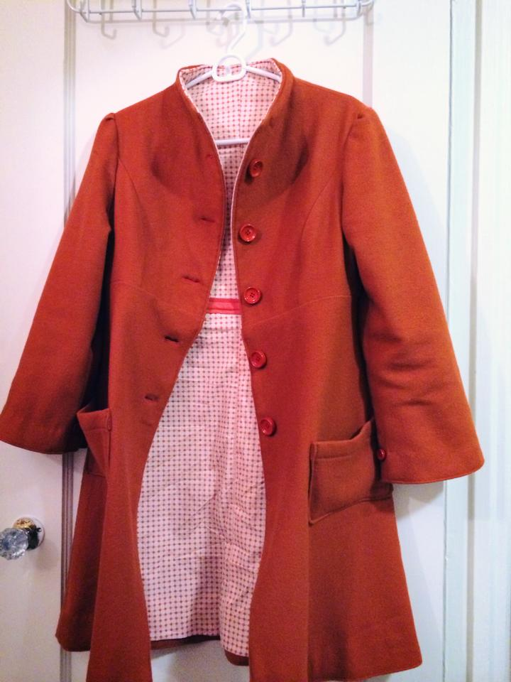 Finished coat