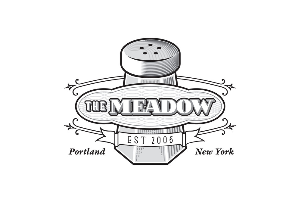 Redesigned The Meadow logo