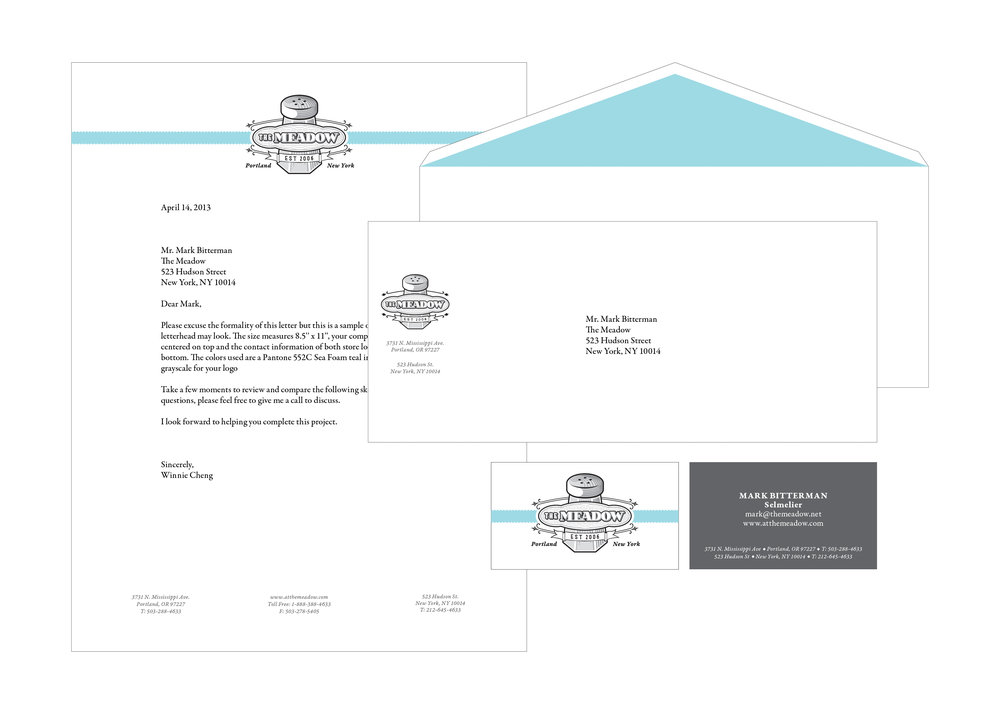Identity / letterhead system