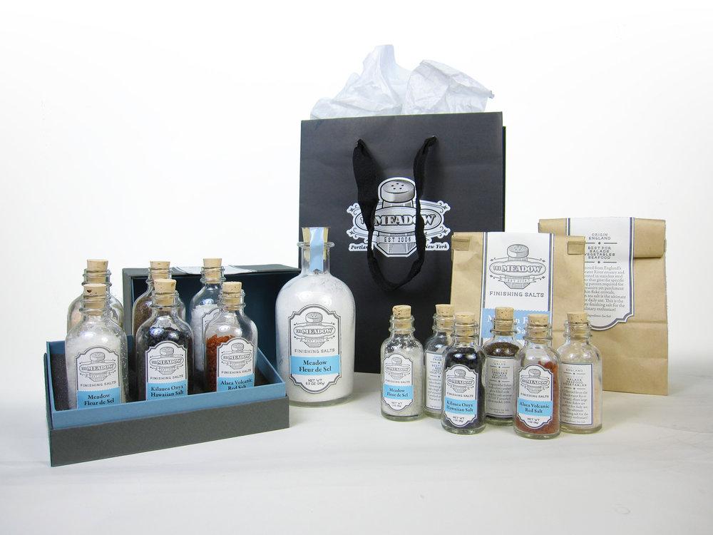 Individual salt & gift box packaging