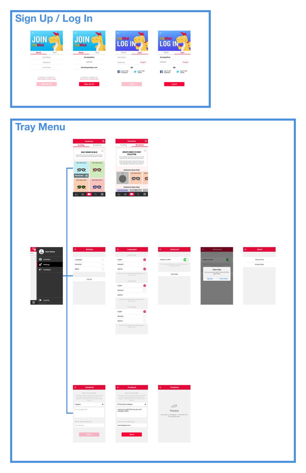 App Redesign (iOS) - part 1
