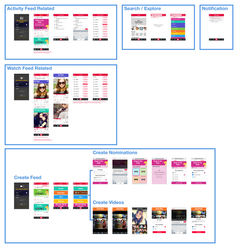 App Redesign (iOS) - part 2